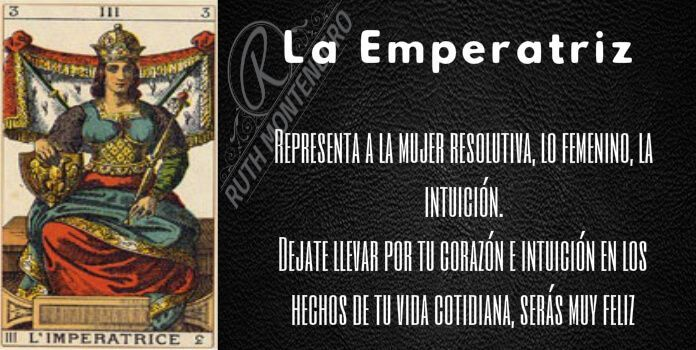arcano la emperatriz - Arcano la Emperatriz