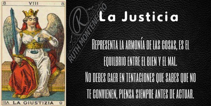 arcano la justicia - Arcano la Justicia