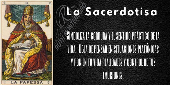 arcano la sacerdotisa - Arcano la Sacerdotisa o Papesa