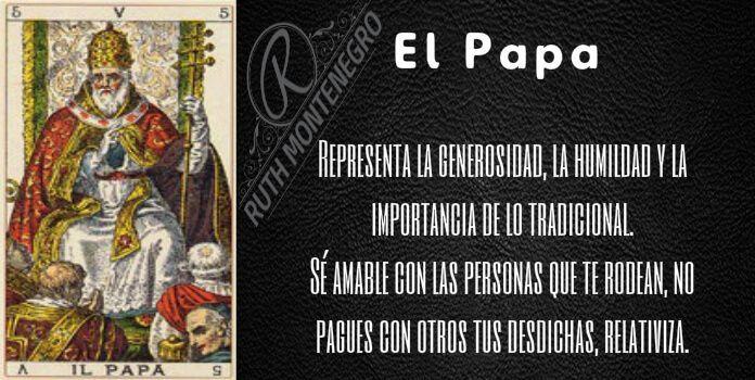 El Sumo Sacerdote o el Papa