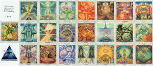 Tarot de Crowley Ruth Montenegro 1 300x131 - Tipologías de Tarot por Ruth Montenegro