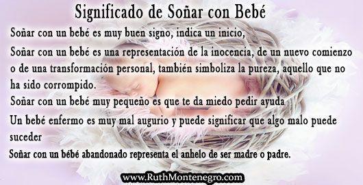 images interpretacion suenos Diccionario Letra b Significado Sonar Bebe Ruth Montenegro - Soñar con un Bebé
