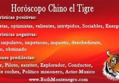 Horóscopo Chino el Tigre