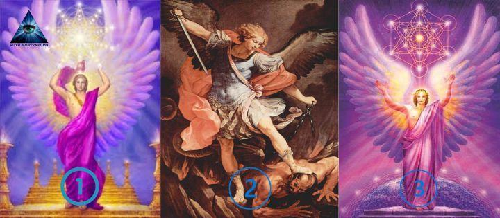 Elige uno de los tres Arcangeles y descubre su mensaje para ti 1 - Los tres Arcángeles y su mensaje para ti