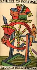 arcano marsella la rueda fortuna ruth montenegro - Arcano Rueda de la Fortuna