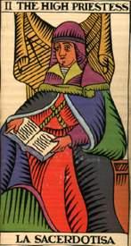 arcano marsella la sacerdotisa o papesa ruth montenegro - Arcano la Sacerdotisa o Papesa