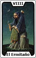 2 arcano el hermitano ruth montenegro - Tarot del dia carta el Hermitaño