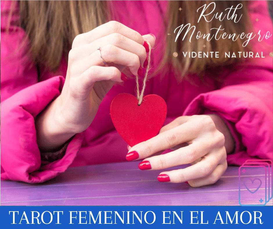 imagen banner tarot femenino en el amor