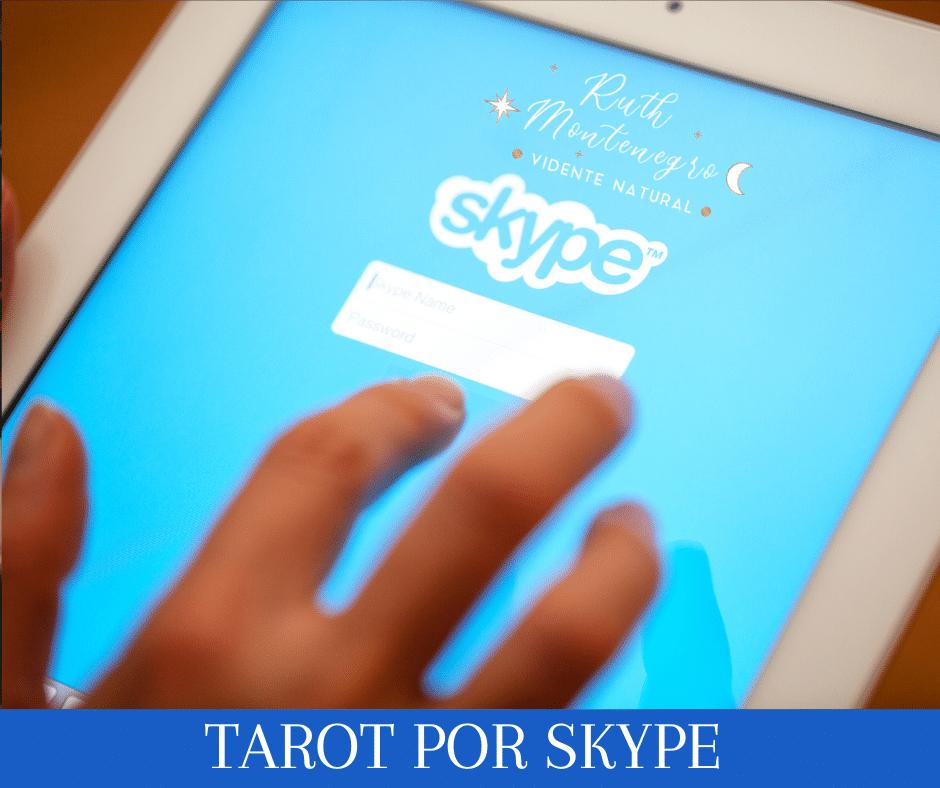 imagen banner tarot por Skype