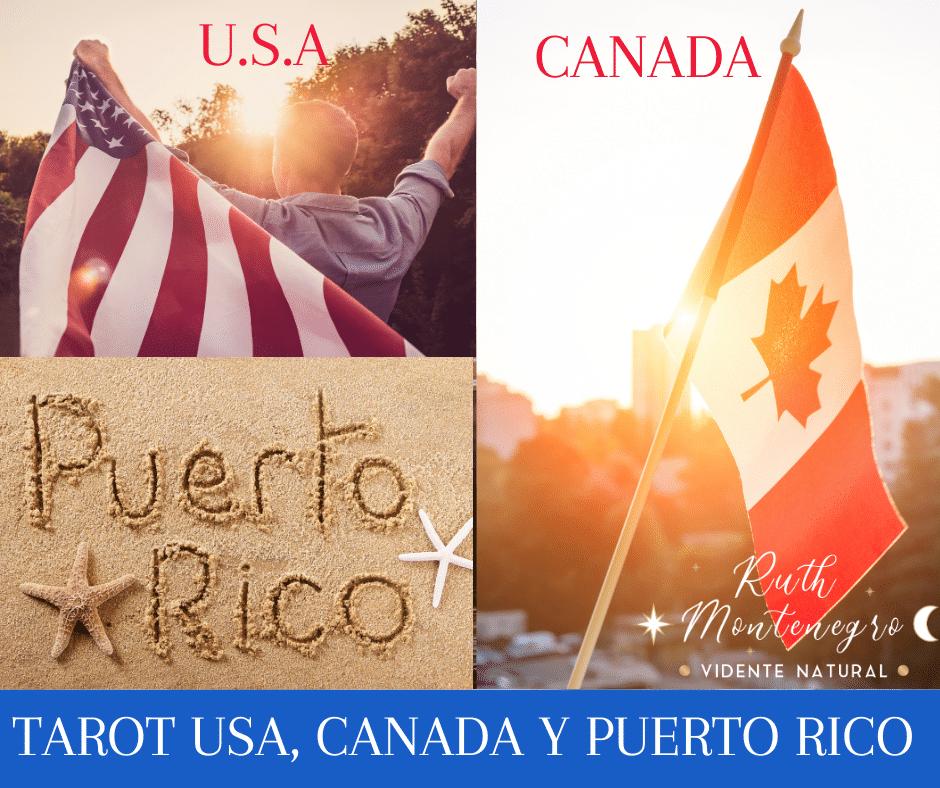 imagen banner tarot usa, Canadá y puerto rico